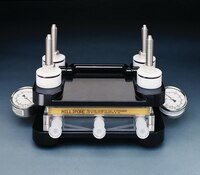 Pellicon 174 Cassette Acrylic Holder And Assembly Uf Df Systems